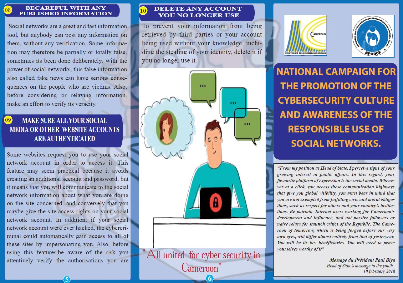 National campaign on cybersecurity